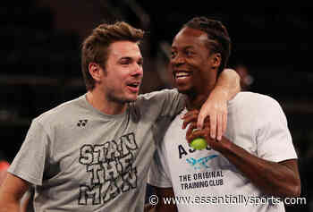 """We're Like Wine"" – Gael Monfils Has A Hilarious Message For Stan Wawrinka On His Birthday - Essentially Sports"