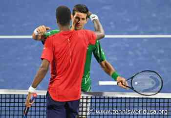 Gael Monfils posts classy message to Novak Djokovic - Tennis World USA