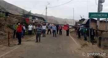 Coronavirus en Perú: comunidades de Ica y Ayacucho bloquean sus fronteras para evitar avance de Covid-19 - Diario Gestión