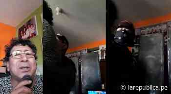 Detienen a cantante iqueño mientras hacía una transmisión en vivo durante cuarentena [VIDEO] - LaRepública.pe