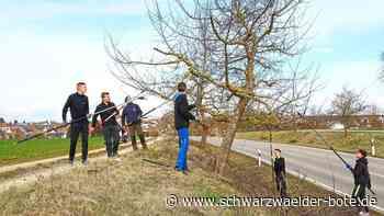 Haigerloch: Mit der Schneidgiraffe im Einsatz - Haigerloch - Schwarzwälder Bote