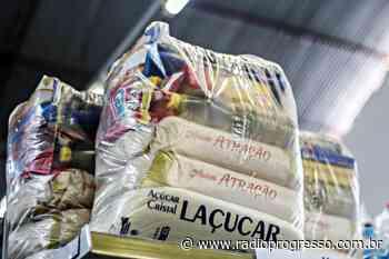 ACI de Julho de Castilho distribui cestas básicas às famílias carentes - Rádio Progresso de Ijuí