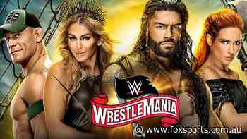 WWE WrestleMania 36 Guide | Start Time, Match Card, Rumours, Spoilers, Odds