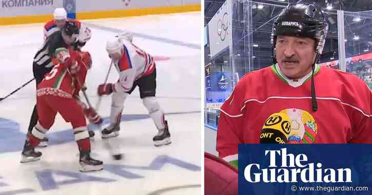 'There are no viruses here': Belarus president plays ice hockey amid Covid-19 pandemic – video