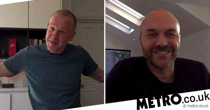 Sunday Brunch hosts Tim Lovejoy and Simon Rimmer present from their homes as live studio show axed
