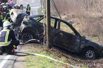 Horror-Unfall bei Brandis: Fahrer doch schwerer verletzt - TAG24