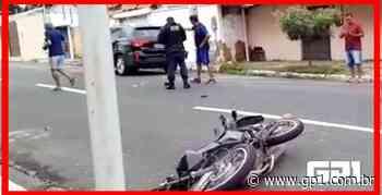 Dupla se envolve em acidente após realizar assalto em Teresina - GP1