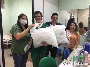 Contadores voluntários produzem máscaras para doar a hospitais de Teresina - Piauí Hoje