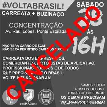 'Buzinaço' em prol da economia é cancelado em Teresina - Portal O Dia