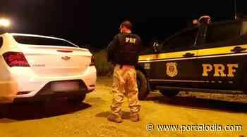 Carro roubado na BR-316 em Teresina é recuperado pela PRF - Portal O Dia