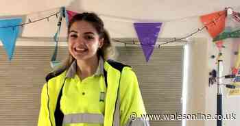 The 20-year-old who signed up as a council's only binwoman