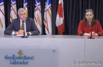 Newfoundland and Labrador to provide COVID-19 update