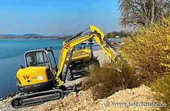 Radolfzell: Uferbereich der Mettnau wird saniert - SÜDKURIER Online