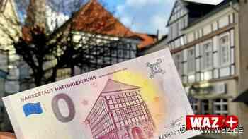 Hattingen: Altes Rathaus schmückt den dritten 0-Euro-Schein - Westdeutsche Allgemeine Zeitung
