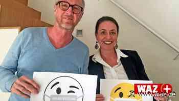 Corona: Kampagne wirbt für Mundschutz in Hattingen - Westdeutsche Allgemeine Zeitung