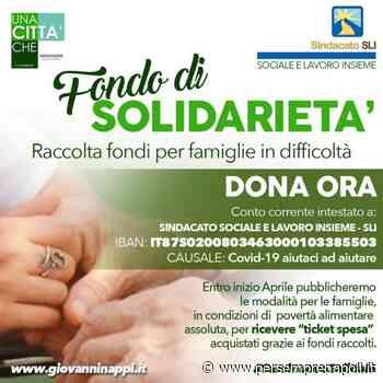 """A Casalnuovo di Napoli il primo """"Fondo di Solidarietà"""" per il Coronavirus. - Per Sempre Napoli"""