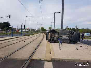 Près de Montpellier : un violent accident impliquant un véhicule de la police municipale - actu.fr