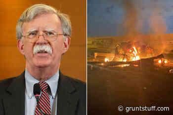 John Bolton cheers airstrike that killed Iran general Qassem Soleimani - Gruntstuff
