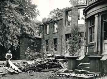Last days of Egerton Hall as demolition men moved in - The Bolton News