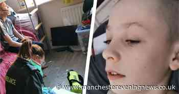 Bolton mum shares video of son struggling to breathe to warn against breaking coronavirus guidelines - Manchester Evening News