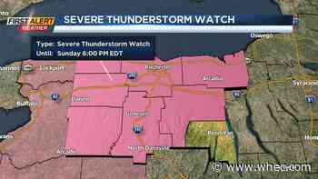 Strong to severe storms, gusty winds this afternoon