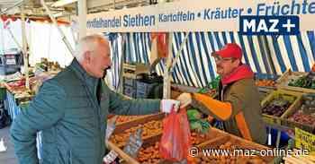 Wochenmarkt Ludwigsfelde - Corona-Virus stoppt Korona-Erdbeeren - Märkische Allgemeine Zeitung