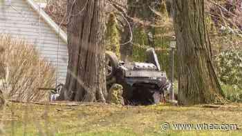 Driver in intensive care after Webster crash