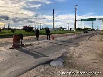 22 pessoas foram negadas de entrar em Penedo após vistoria da barreira sanitária - Boa Informação
