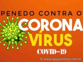 Prefeitura de Penedo publica medidas complementares em combate ao Covid-19 - Aqui Acontece