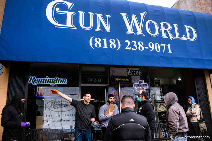 US agency includes gun sellers as 'critical' infrastructure during coronavirus emergency
