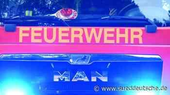 Vier Doppelhaushälften in Brand: 450 000 Euro Sachschaden - Süddeutsche Zeitung