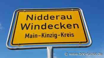 Straßenvollsperrung in Nidderau Eichen • Nidderau - Bruchköbeler Kurier