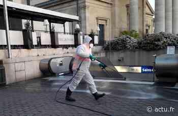 Yvelines. Saint-Germain-en-Laye désinfecte ses rues pour lutter contre le coronavirus - actu.fr