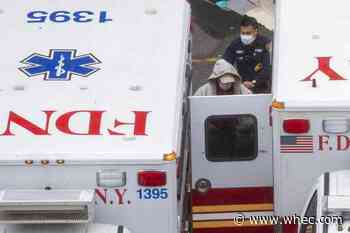 Sirens a constant as NY state near 1,000 coronavirus deaths
