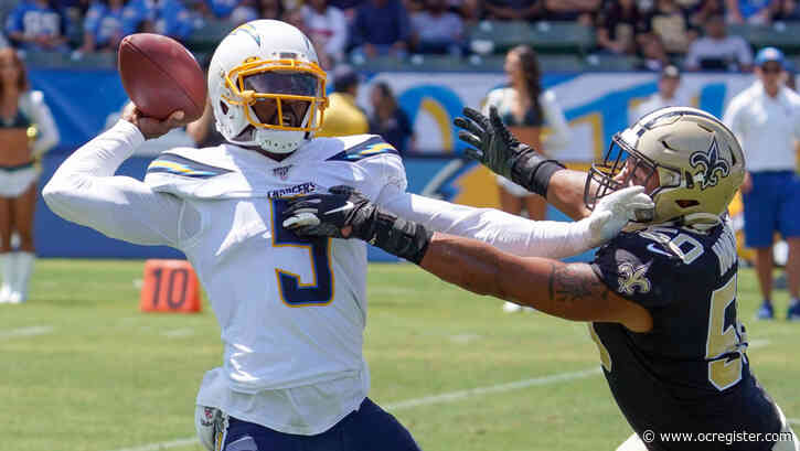Chargers QB Tyrod Taylor has another chance to start, and to prove doubters wrong