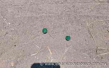 Misteriosas bolas verdes aparecen en terrenos de Huimanguillo - El Heraldo de Tabasco