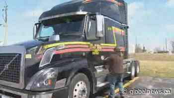 Coronavirus outbreak: Truckers work to keep supply lines open amid COVID-19 pandemic