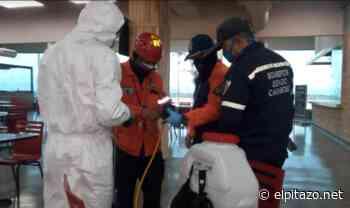 Gobierno de Carabobo realiza plan de desinfección en el Aeropuerto Arturo Michelena - El Pitazo