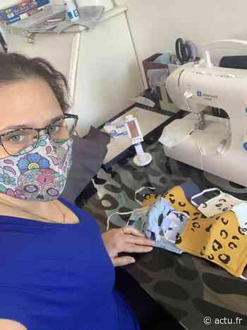Coronavirus. Aux Andelys, l'ancienne couturière réalise des masques pour les professionnels - Normandie Actu