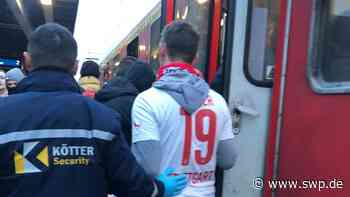 Massenschlägerei am Bahnhof Crailsheim: Mitfahrerin berichtet: Eine Zugfahrt wird zur Tortur - SWP