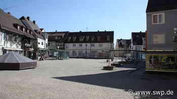 Corona in Crailsheim: Stadt ist menschenleer – Vollzugsdienst muss selten eingreifen - SWP