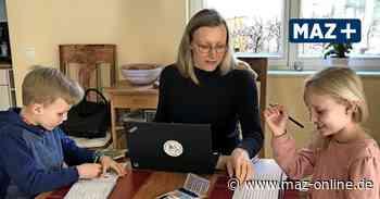 Homeschooling in Potsdam - Schule in der Corona-Zeit: Lernen mit Mama im Wohnzimmer - Märkische Allgemeine Zeitung