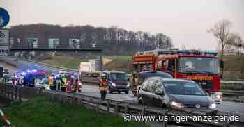 Tödlicher Unfall auf der A5 bei Friedrichsdorf - Usinger Anzeiger
