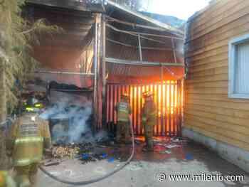Se incendia bodega en Ocoyoacac; no hay lesionados - Milenio