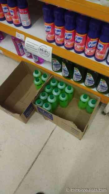 Carrefour e Big Osasco admitem dificuldades em repor álcool e álcool em gel nas lojas - Correio Paulista