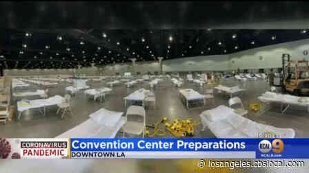 Coronavirus: LA Convention Center Undergoing Preparations For Possible Use