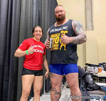 Prevost adds weightlifting record to athletic resume - The Sarnia Journal