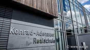 Konrad-Adenauer-Realschule in Hamm-Rhynern darf vier neue Klassen bilden - Bescheide werden versendet | Hamm - Westfälischer Anzeiger