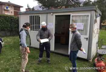 Sopralluogo di Mario Bentivoglio e Alberto Preioni all'ex ospedale di Premosello - OssolaNews
