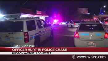 RPD officer injured in overnight car chase